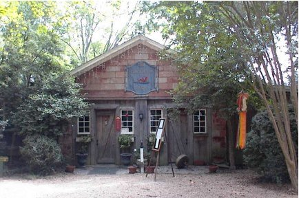 We had lunch at The Coach House Tavern on the grounds of the Berkeley Plantation