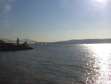 The beautiful Hudson River
