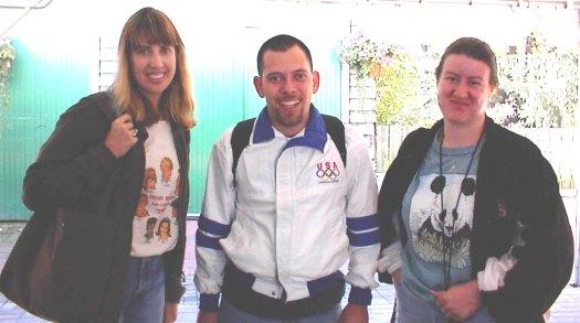 Michellek, Mark, and Jenn