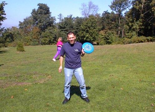 Mark, Frisbee Player Extrordinaire!