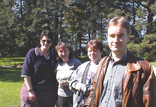 Christina, Kellie, Amanda, and Paul